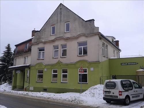 Zrekonstruovaný hotel